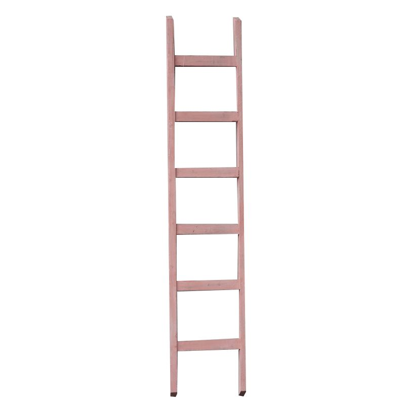 Houss Living Decoratie ladder roze 160 cm