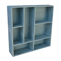letterbak Blauw - 55x55 cm