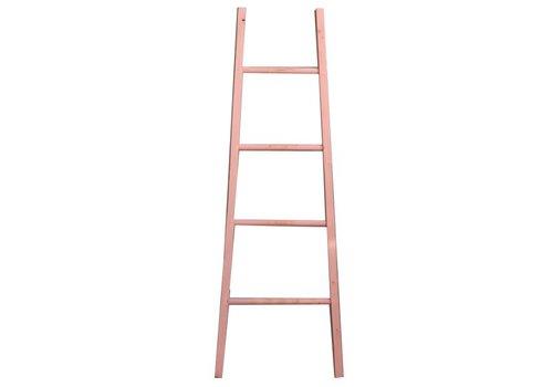 Houss Living Decoratie Ladder Roze - B48xH155 cm