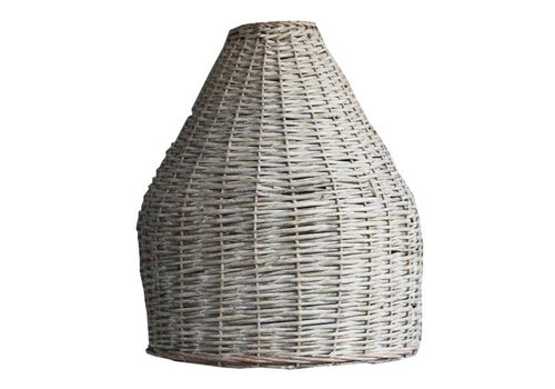 Houss Living Rotan Hanglampenkap Grey - 48xH61 cm