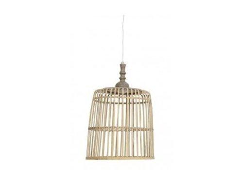 Light & Living Hanglamp Malakka naturel XL - 38,5x40 cm