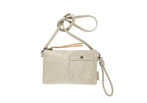 Zusss Eenvoudige tas krijt - 25x2xH15 cm