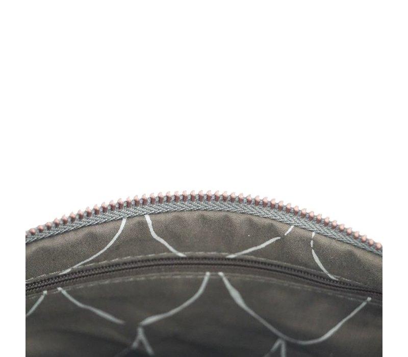 Eenvoudige tas middengrijs - 25x2xH15 cm