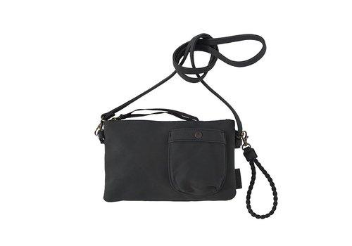 Zusss Eenvoudige tas zwart - 25x2xH15 cm