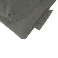 Eenvoudige tas middengrijs - 28x2xH30 cm