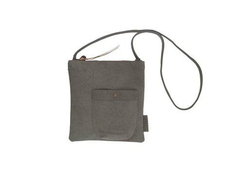 Zusss Eenvoudige tas middengrijs - 28x2xH30 cm