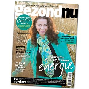 gezondNU maart 2014 | Explosieve energie editie