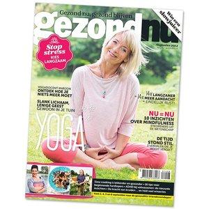 gezondNU augustus 2014 | Het yoganummer