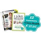 Boek I love Health + jaarabonnement
