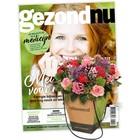 Proefabonnement gezondNU + gratis bloemen