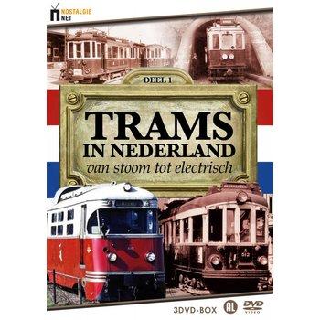 Just Entertainment Trams in Nederland - Van stoom tot electrisch