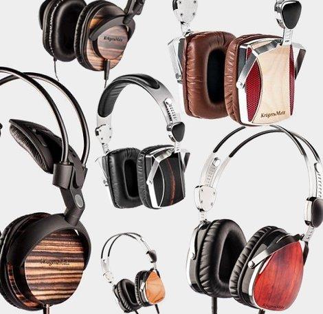 Design koptelefoons van Krüger & Matz