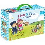 Just Bridge Entertainment Fien & Teun - 4 in 1 kinderpuzzel