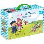 Just Entertainment Fien & Teun - 4 in 1 kinderpuzzel