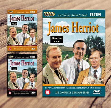 De populaire serie James Herriot op DVD!