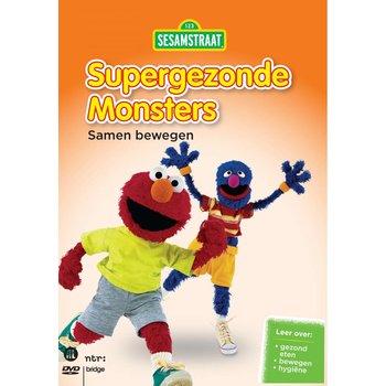 Just Entertainment Sesamstraat - Supergezonde Monsters deel 2/Samen bewegen