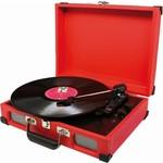 Soundmaster Koffermodel platenspeler PL580 rood