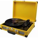 Soundmaster Koffermodel platenspeler PL580 geel