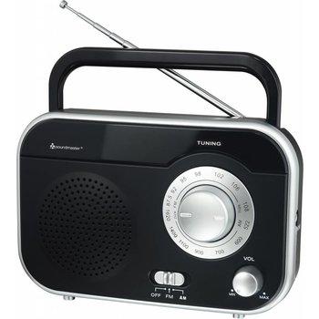 Soundmaster Draagbare radio TR410 zwart