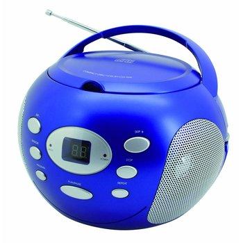 Soundmaster Draagbare radio/cd-speler SCD2000 blauw