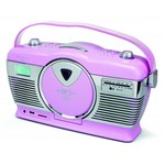 Soundmaster Retro radio/cd-speler RCD1350 (roze)