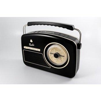 GPO GPO Fifties style DAB+-radio - zwart