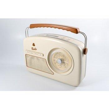 GPO GPO Fifties style DAB+-radio - crème
