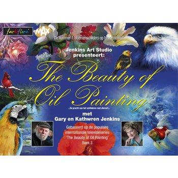 FarbiFlora The Beauty of Oil Painting - Boek 3