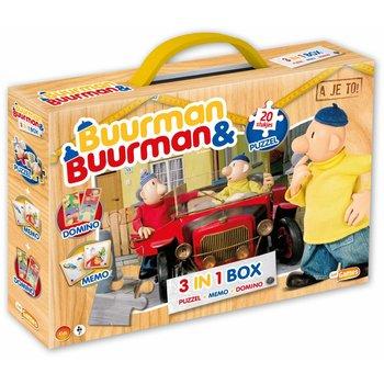 Just Entertainment Buurman & Buurman 3-in-1 (Memo, Domino, Puzzel)