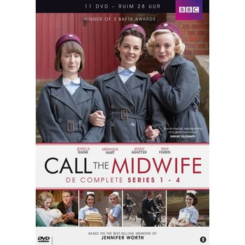 Just Entertainment Call the Midwife - Seizoen 1 t/m 4