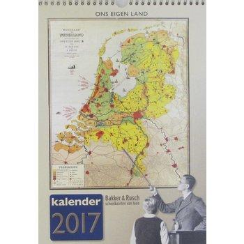 Bakker & Rusch Jaarkalender 2017 Ons Eigen Land