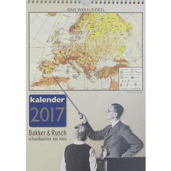 Bakker & Rusch Jaarkalender 2017 Ons Werelddeel