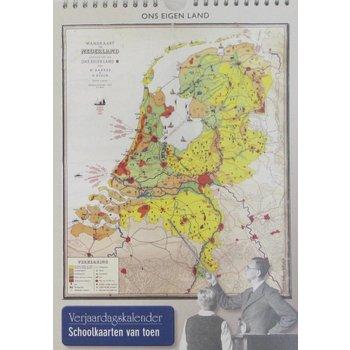Bakker & Rusch Verjaardagskalender Ons Eigen Land