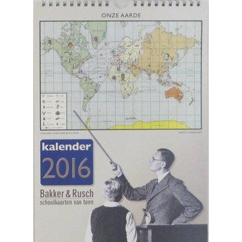 Bakker & Rusch Verjaardagskalender Onze Aarde