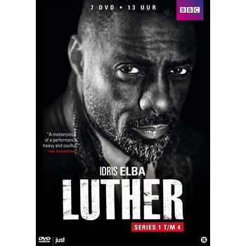 Just Entertainment Luther - Collection Series 1-4