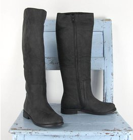Papucei zwarte hoge laarzen