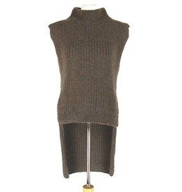 Inti Knitwear bruine trui Cuella Larga