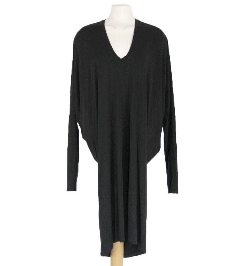 Zwart tuniek jurkje