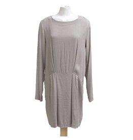 European Culture grijs/bruine jurk