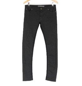 Superfine London zwarte skinny Jeans 2 stoffen