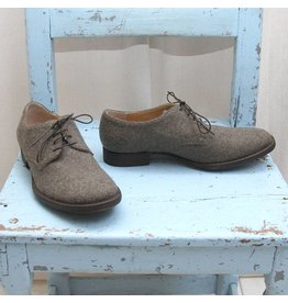 01000010 by Boccaccini groen/bruine schoenen