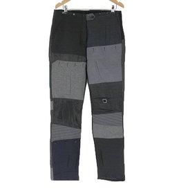 Mayer Berlin broek met lappen zwart/grijs