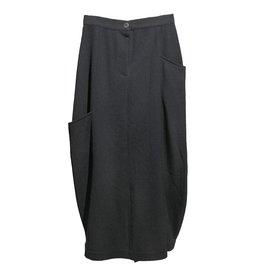 Sarah Pacini zwarte rok hoge taille