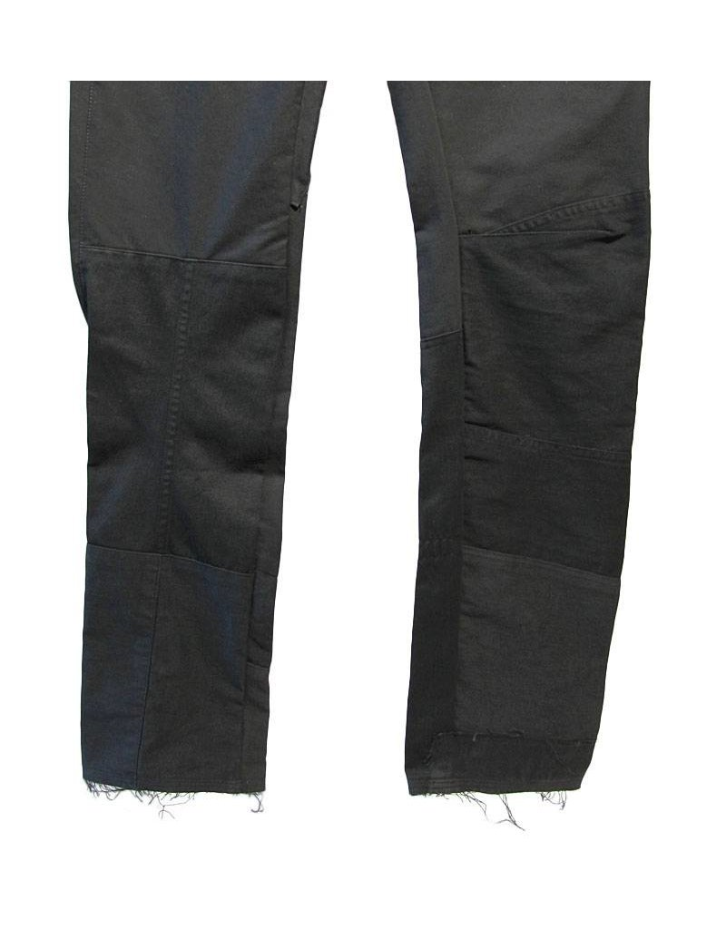Mayer Berlin zwarte broek verschillende stof