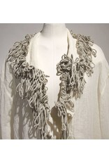 Zuza Bart creme blouse met touw