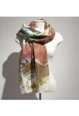 Zuza Bart sjaal batik kleurtjes