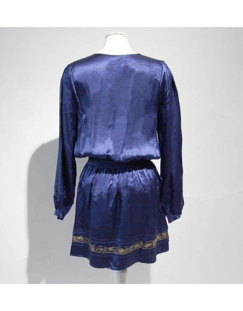 Essentiel blauwe tuniek zijde