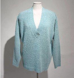 Artu Napoli trui v-hals lichtblauw