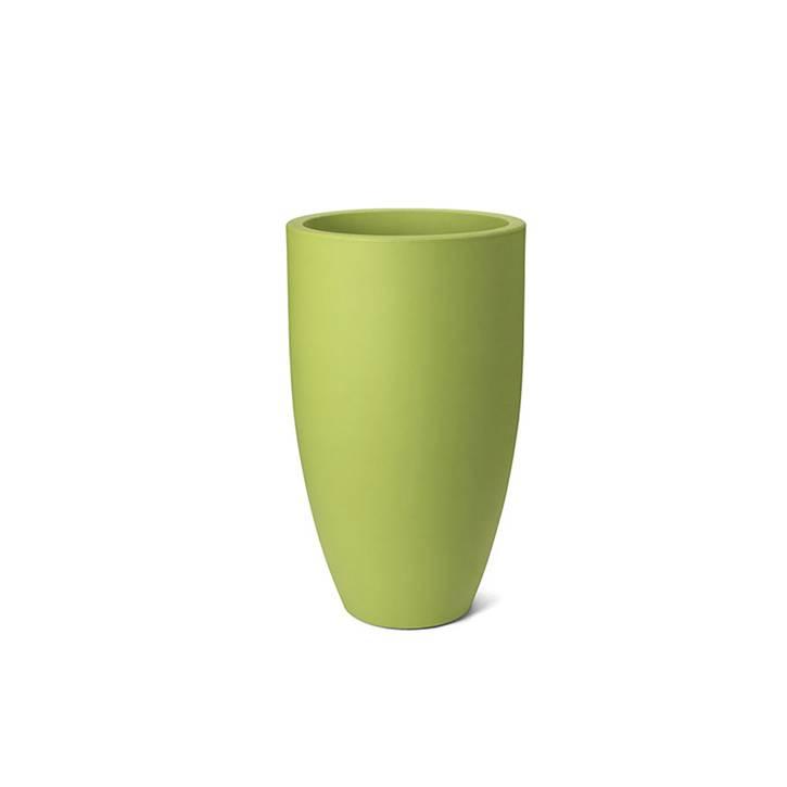 Ikala Hoge groene bloempot Elise 70
