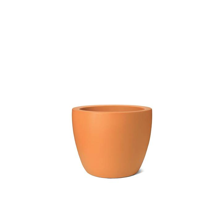 Ikala Oranje Bloempot Kylie H40